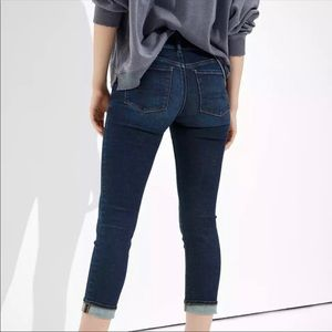 AE American Eagle Artist Crops Ankle Jeans